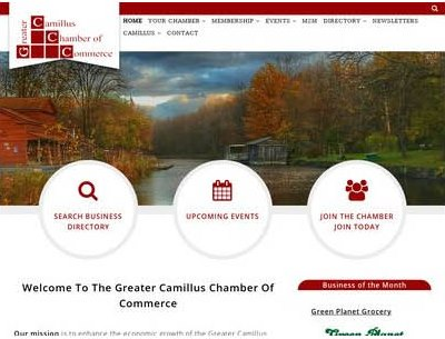 The Greater Camillus Chamber Of Commerce