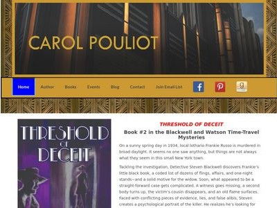 Mystery Writer Carol Pouliot Author