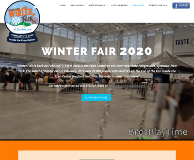 Winter Fair 2020 Syracuse